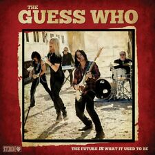 THE GUESS WHO The Future is What it Used to Be LP Red Vinyl In America Long Day