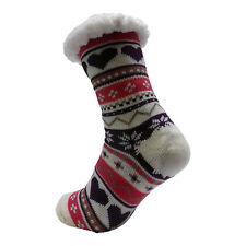 LADIES WARM THERMAL INSULATED THICK WINTER SOCKS 4.7 TOG UK 6-11 399D WHITE HEEL