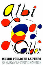 "ALEXANDER CALDER ORIGINAL LITHOGRAPH:   ""ALBI""  EXCELLENT CONDITION--FREE S+H+I"