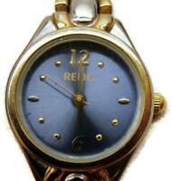 Relic 30M WR Stainless Steel Two Tone Women's Watch Analog Quartz New Battery