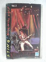 STING BRING ON THE NIGHT VOL2 RARE orig CLAMSHELL CASSETTE TAPE INDIA 1992