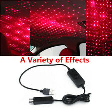 Portable Small USB Port LED Car Ceiling Projector Red Laser Lamp Starry Sky Star