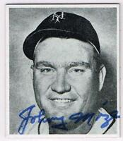 Original Autograph PSA/DNA of Johnny Mize HOF of the New York Giants, 1947B