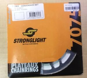 Stronglight 7075, 10 Speed, 1x Conversion kit for Shimano 36 teeth