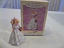 Hallmark Ornaments Springtime Barbie Collector First In Series Nib Retired