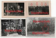 4 x WK2 Foto Westwall Bunker Schießscharte Innenaufnahme Gräben Oberhausen 2433