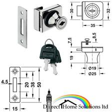 Econo Glass Door Dead Bolt Lock Standard Profile Locking System For Glass Doors