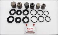 FRONT L or R Brake Caliper Rebuild Repair Kit for AUDI Q7 6.0 TDi (BRKP151S)