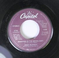 Pop 45 Anne Murray - Shadows In The Moonlight / Yucatan Cafe On Capitol