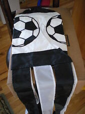 New Black And White Soccer Ball Windsock