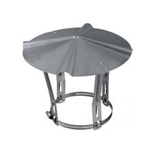 Chapeau chinois ajustable en acier galvanisé Diamètre de 80 à 120 mm