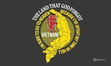 Vietnam Vet 3X5 Flag #685 banner sign wall hanging Spent Time In Hell veteran