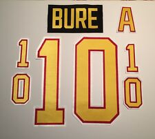 Vancouver Canucks Jersey Lettering Kit Any Name/Number