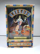 Vintage 1970s Koji Murai Dancing Clown Music Jewelry Box Wind-Up