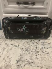 Lug Bouquet Black  Trolley Cosmetic Makeup Travel Case-New