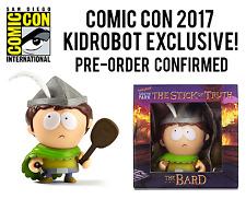 "SDCC 2017 KIDROBOT Exclusive SOUTH PARK THE BARD 3"" Mini Figure Pre-Order NEW"