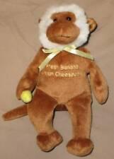 "CHEESECAKE FACTORY 9"" MONKEY Toy Banana Herrington 2007 Beanbag Plush Stuffed"