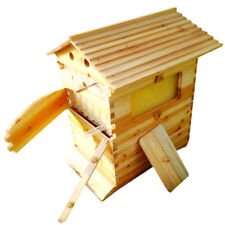 7PCS Upgraded Beekeeping Tool Hive Frames & Beehive Wooden Brood Box New