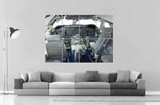 BOEING 747  COCKPIT plane avion Poster Grand format A0 Large Print
