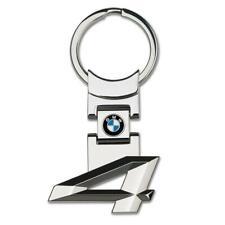 Ring Key Chain Keyfob Genuine Us Seller Bmw 4 Series Style Metal Car Logo Key