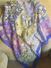 PAVLOVO POSAD MULTICOLORED SILK SCARF