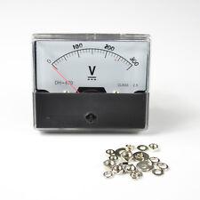 AT-670 Analog Volt Voltage Panel Meter Voltmeter Gauge DC 0-300V