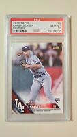 2016 Topps Corey Seager Throwing SP RC Rookie #85 PSA 10 Gem Mint