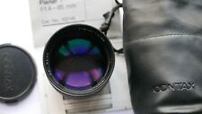 Carl Zeiss 85mm f1.4 Planar T star Japan for contax/yashica lens