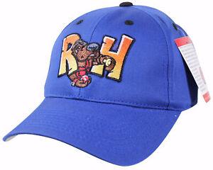 New MIDLAND ROCKHOUNDS Sm/Med STRAPBACK CAP Texas AA Minor League Baseball NWT !