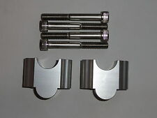 "HDM Handlebar Riser Kit 1 1/8"" Bars 30mm Motorcycle ATV Dirt Bike Aluminum grip"