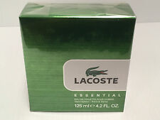 LACOSTE ESSENTIAL For MEN COLOGNE 4.2 OZ EDT Spray NEW IN SEALED BOX AS SHOWN