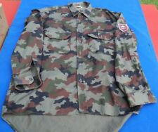 SLOVENIAN ARMED FORCES, military Shirt + vintage patch !