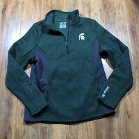 MSU 1/4 zip sweater Colosseum Medium Women's Michigan State University