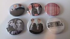 6 Eurythmics button badges 25mm Be Yourself Tonight Touch Annie Lennox Revenge