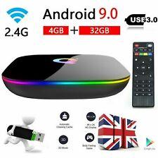 2020 Android 9.0 6K Smart TV Box Q-BOX Q+ Q Plus Amlogic Quad Core 4GB+32GB WIFI