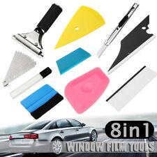 8 In 1 Car Window Tint Tools Kit Vinyl Film Tinting Squeegee Scraper Applicat ZT