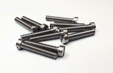 "pkt.10 plated steel 6BA x 1/"" slotted cheese head bolt"