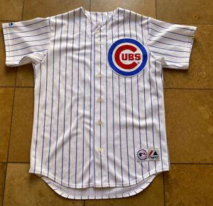 Vintage Chicago Cubs Greg Maddox  #31 Majestic MLB Baseball Jersey Mens M