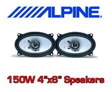 """ALPINE 150W 2WAY 4""""x6"""" 4x6 SXE CAR DOOR SHELF SPEAKERS"""