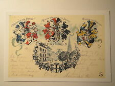Freiburg - SC - Corps Rhenania & Hasso-Borussia & Suevia - Wappen / Studentika