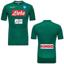 Kappa Maglia Calcio Kombat Gara 2018 Napoli portiere Uomo soccer Verde 918qd L