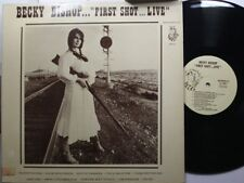 Country Lp Becky Bishop First Shot...Live On Grass Roots