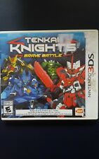 Tenkai Knights: Brave Battle (Nintendo 3DS, 2014)