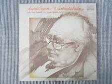 ANDRES SEGOVIA ~ THE INTIMATE GUITAR  VINYL RECORD LP / 1975 RCA RECORDS
