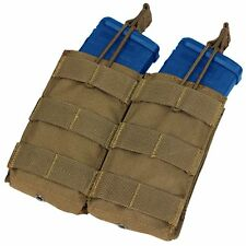 Condor MA19 Coyote Brown Double 5.56/.223 Rifle Bungee Open Top Magazine Pouch