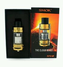 Authentic S Mok Cloud Beast TFV 8 Tank - GOLD CLOSE OUT