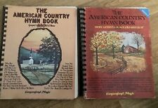 2 Vintage The American Country Hymn Book Gospel Piano Sheet Music I'll Fly Away