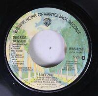 Soul 45 George Benson - Breezin' / Six To Four On Warner Bros