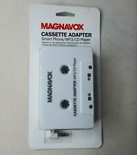 Magnavox Cassette Adapter Smart Phone/Mp3/Cd Player to 3.5mm Adapter Mma3102