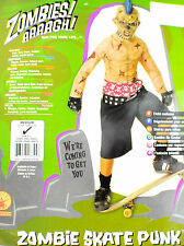 Kids Zombie Skate Punk Costume Medium